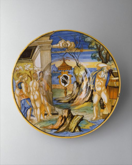Armorial dish: The story of King Anius