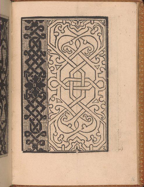 Convivio delle Belle Donne, page 16 (recto)