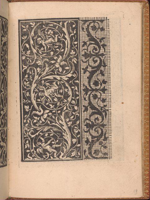Convivio delle Belle Donne, page 19 (recto)