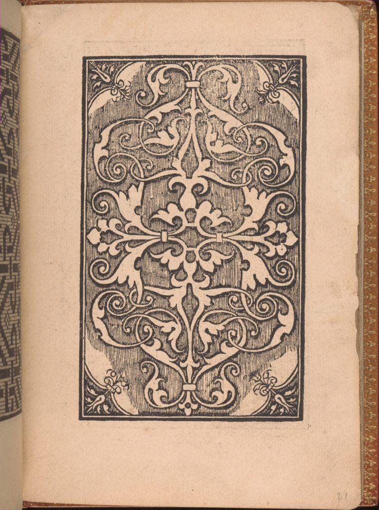 Convivio delle Belle Donne, page 21 (recto)