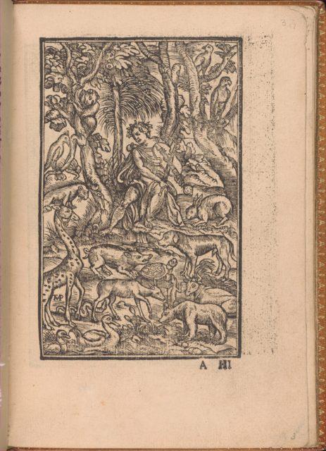 Convivio delle Belle Donne, page 3 (recto)