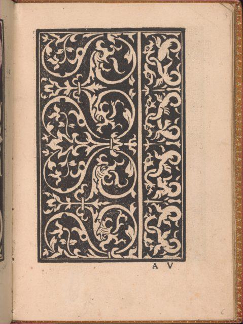Convivio delle Belle Donne, page 6 (recto)