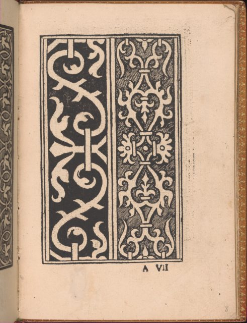Convivio delle Belle Donne, page 8 (recto)
