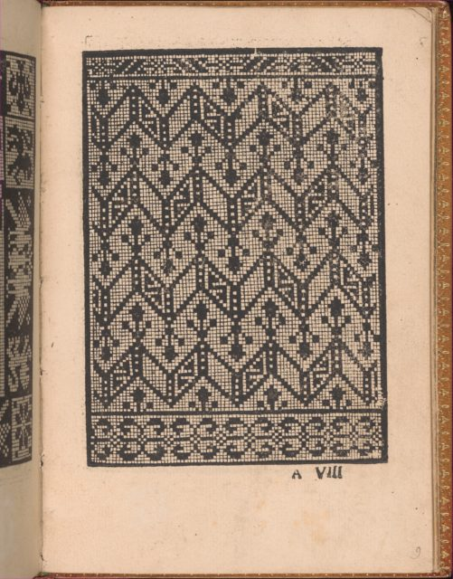 Convivio delle Belle Donne, page 9 (recto)