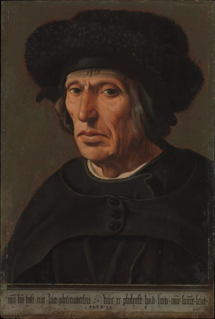 Jacob Willemsz. van Veen (1456–1535), the Artist's Father