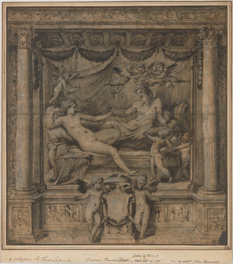 Jupiter and Juno: Study for the 'Furti di Giove' Tapestries