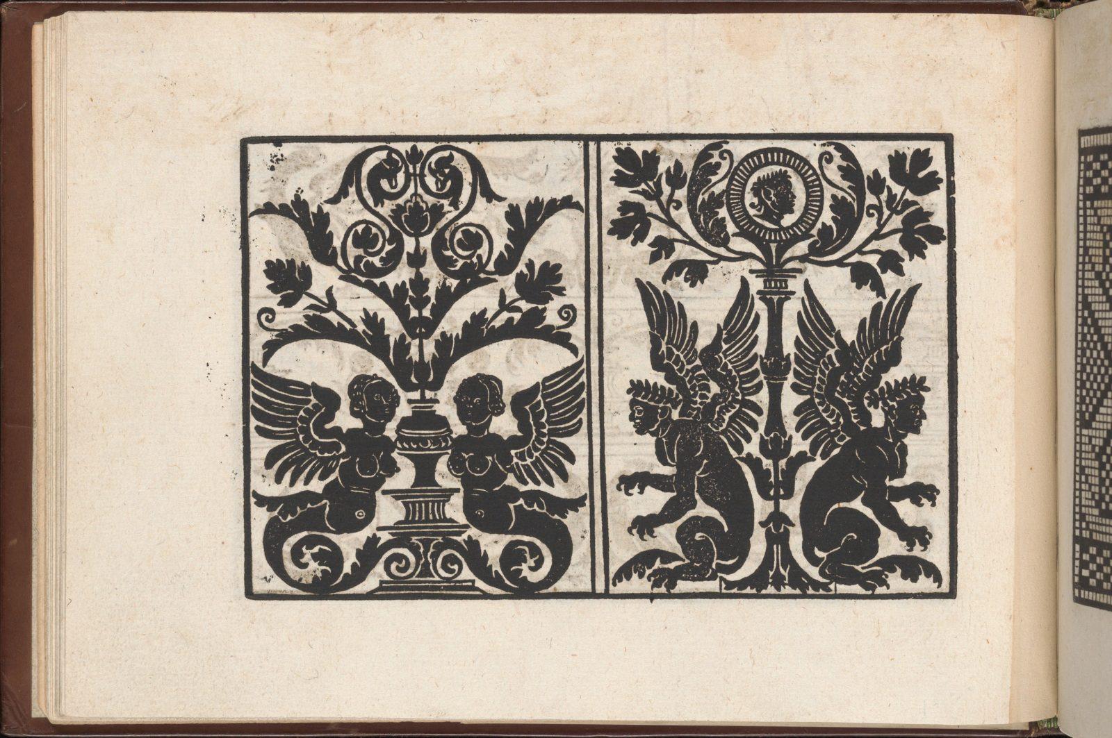 Page from Eyn Newe kunstlich moetdelboech alle kunst (Page 12v)