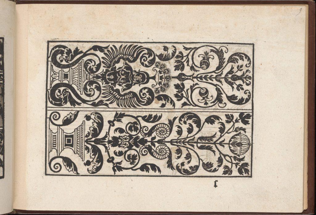 Page from Eyn Newe kunstlich moetdelboech alle kunst (Page 9r)