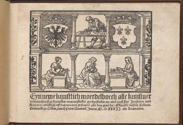 Titel page from Eyn Newe kunstlich moetdelboech alle kunst (Page 1r)
