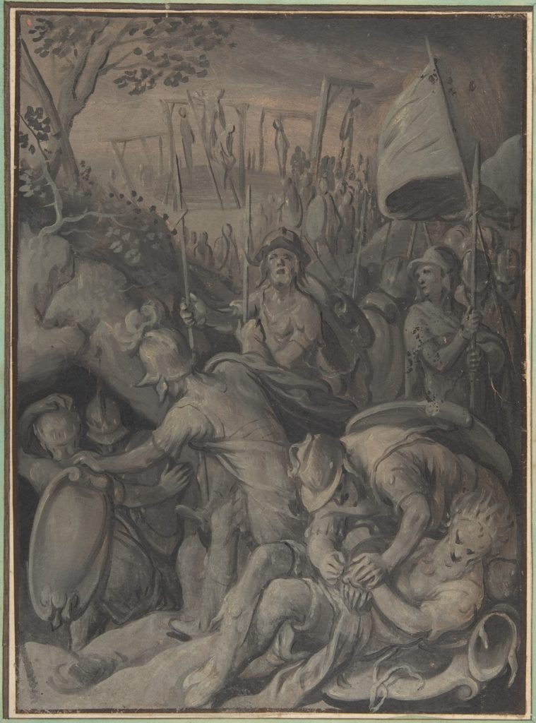 Execution of the Five Kings of the Amorites