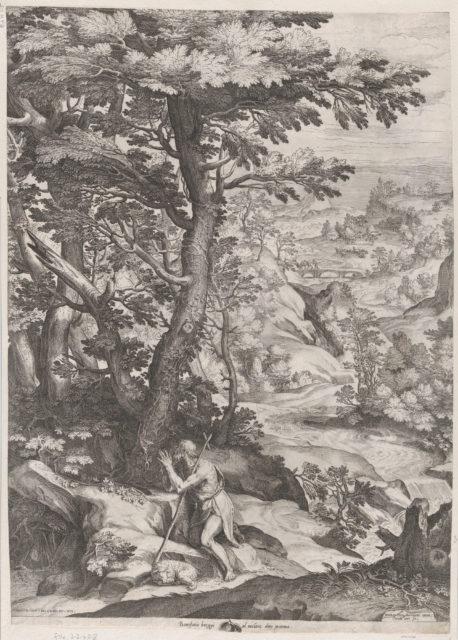St John the Baptist in the Wilderness