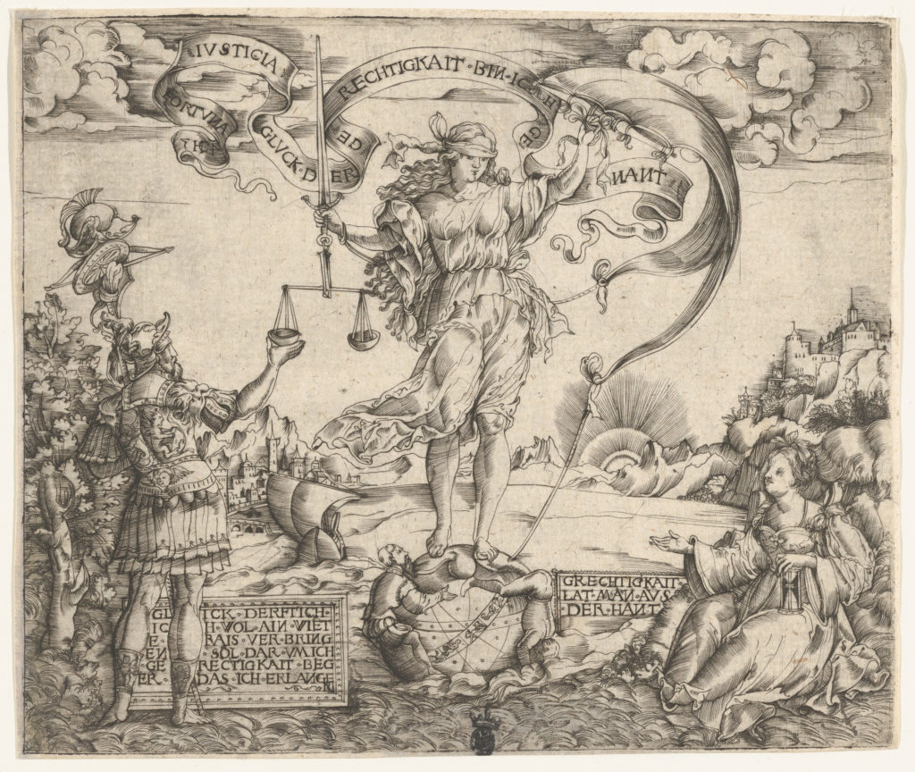 Allegory of Fortuna and Justice