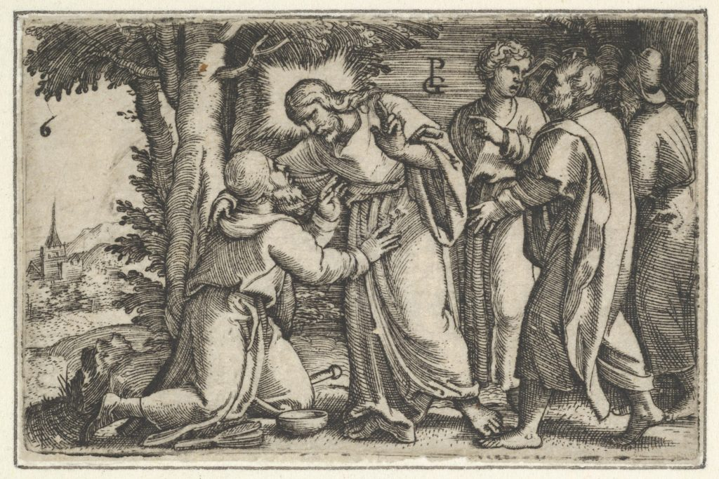 Christ Healing the Leper, from The Story of Christ