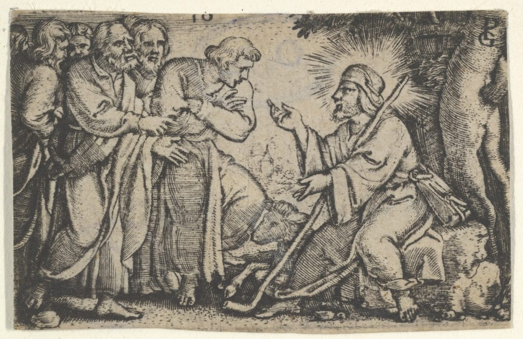 Christ Speaking to the Disciples, from The Story of Christ