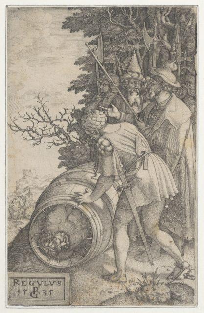 Attilius Regulus, from Roman Heroes