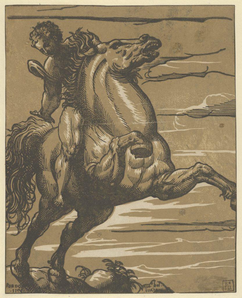 Leaping Horseman