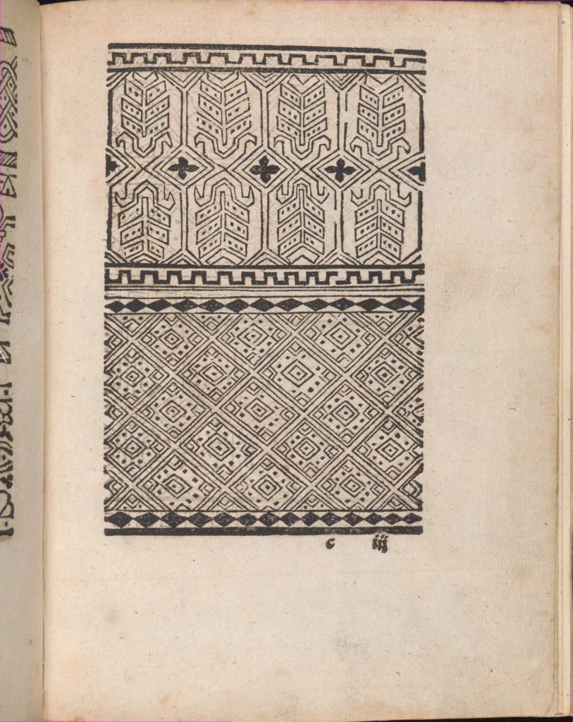 Modelbuch aller Art Nehens vn Stickens (Page 11r)