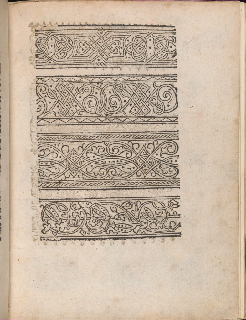 Modelbuch aller Art Nehens vn Stickens (Page 12r)