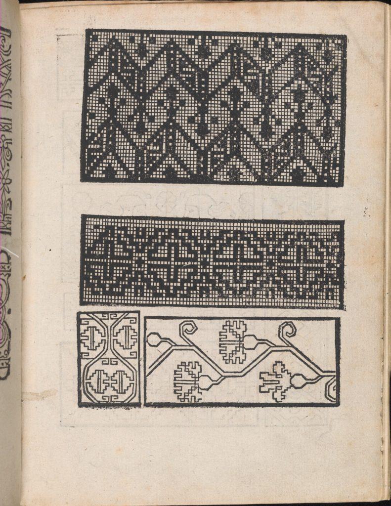 Modelbuch aller Art Nehens vn Stickens (Page 4r)