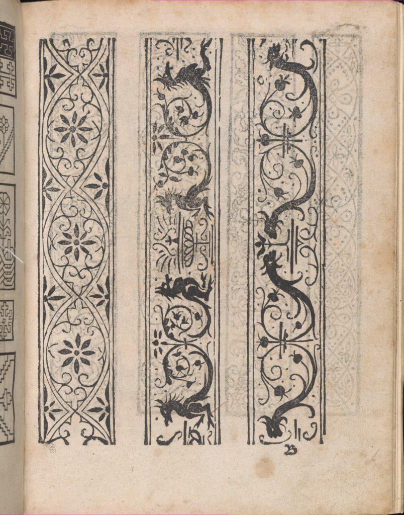 Modelbuch aller Art Nehens vn Stickens (Page 5r)