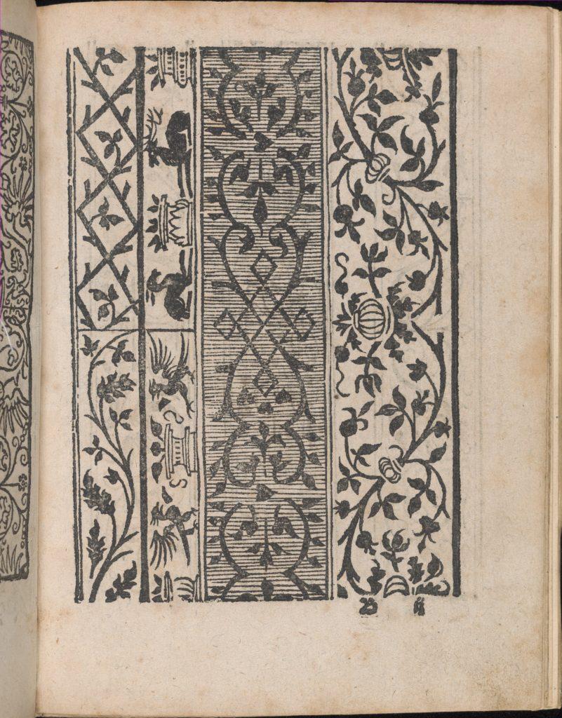 Modelbuch aller Art Nehens vn Stickens (Page 6r)