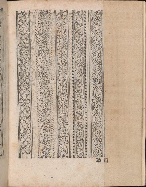 Modelbuch aller Art Nehens vn Stickens (Page 7r)