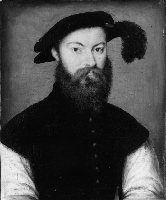 Portrait of a Man with a Black-Plumed Hat