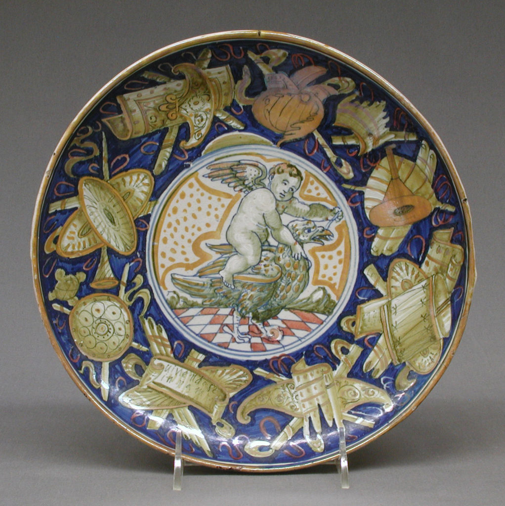 Tazza with Ganymede and the eagle