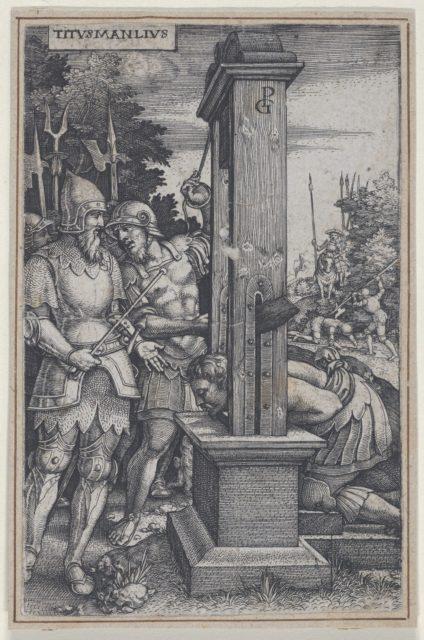 Titus Manlius, from Roman Heroes