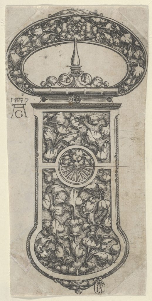 Design for a Buckle with Tendrils