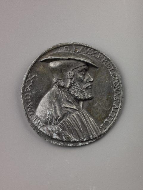Portrait medal of Laux Kreler