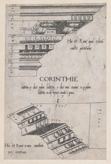 Speculum Romanae Magnificentiae: Entablatures from Santa Pudenziana and the Arch of Camigliano