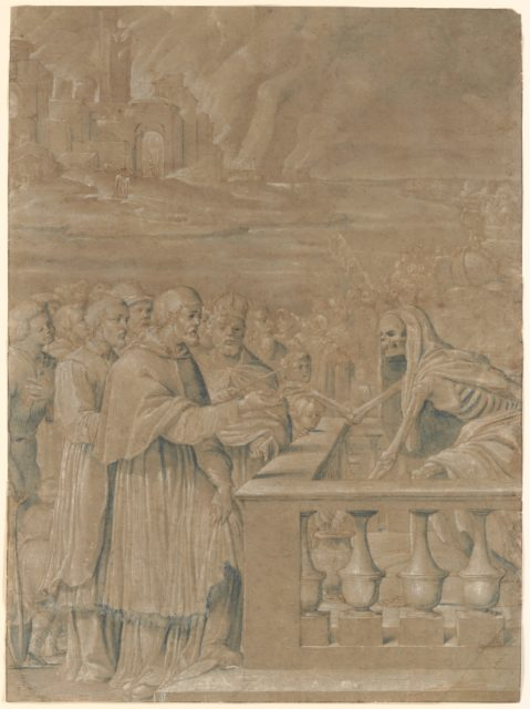 Allegory of the Triumph of Death over Church and State