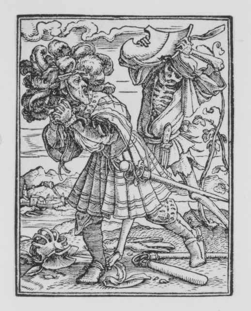 The Count, from The Dance of Death
