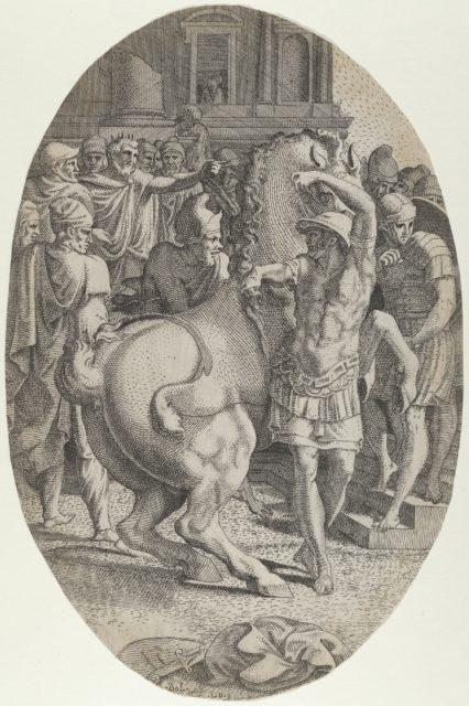 Alexander Mastering Bucephalus