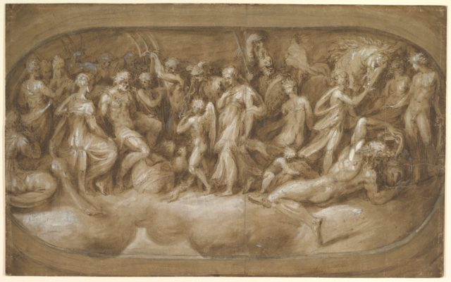 Cupid Presenting Psyche to the Gods