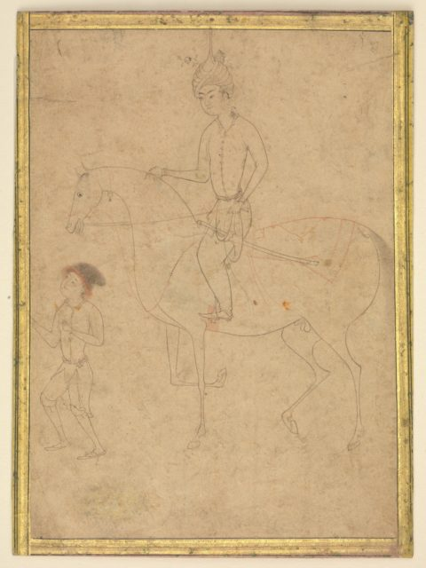 Groom and Rider