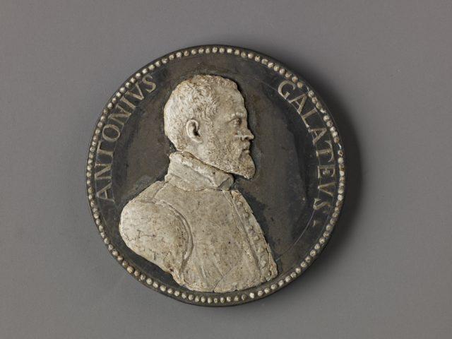 Model for a Medal of Antonio de Ferraris (Il Galateo)