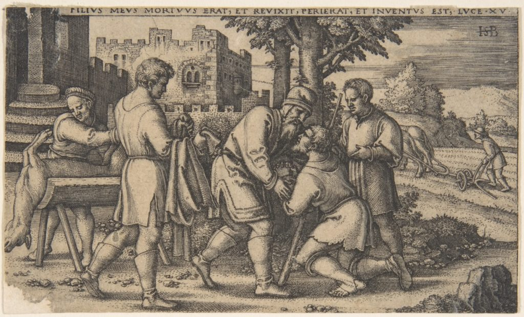 Return of the Prodigal Son, from The History of the Prodigal Son