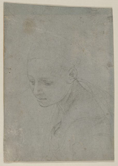 Study of a Young Woman in Three-quarter Bust-Length