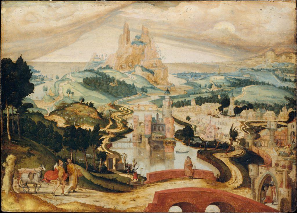 The Arrival in Bethlehem