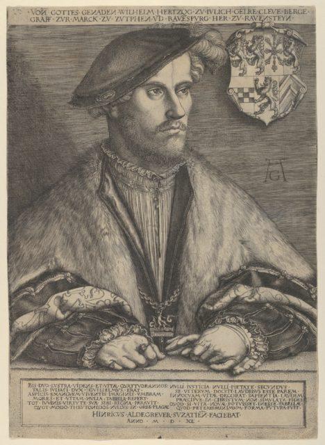 Wilhelm V. Duke of Julich, Cleve and Berg