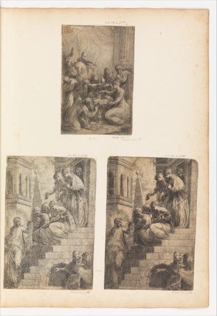 Christ and the Women on the Staircase