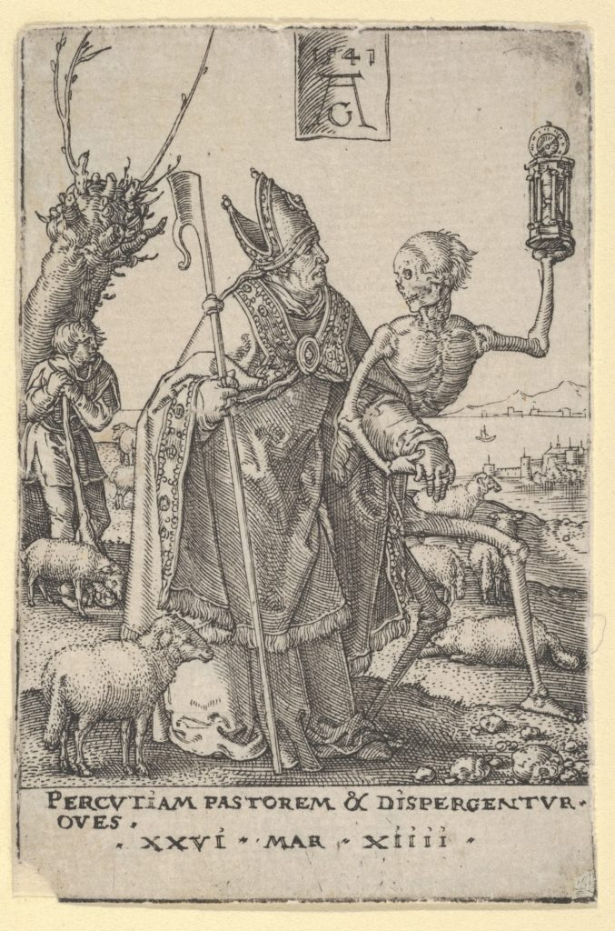 Death and the Bishop, from The Power of Death (Allegory of Original Sin and Death)