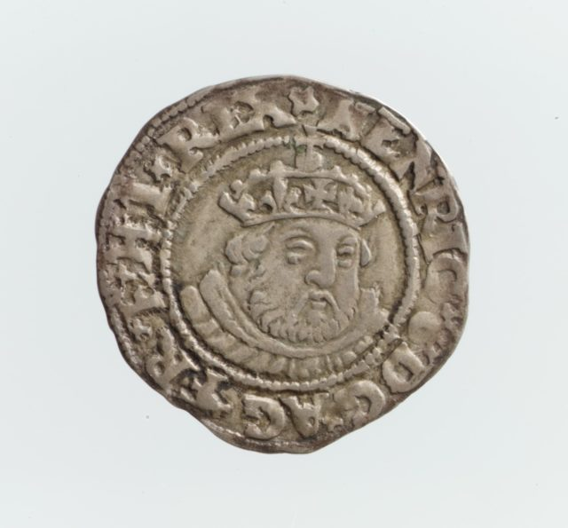 Half groat of Henry VIII (r. 1509–47)