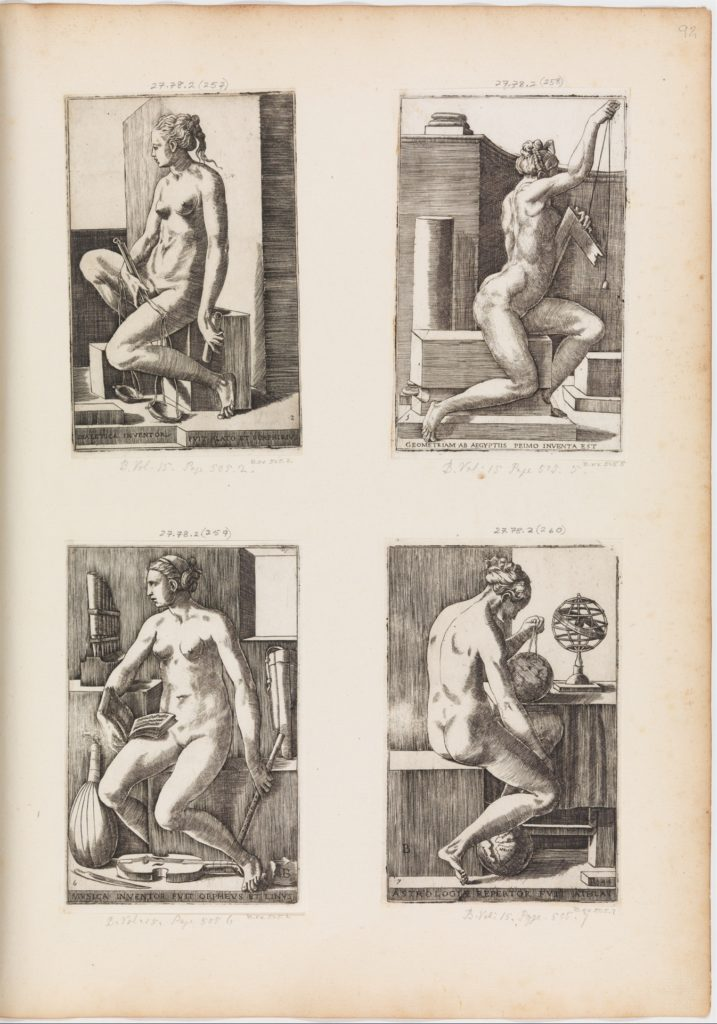Music, from The Seven Liberal Arts, plate 6