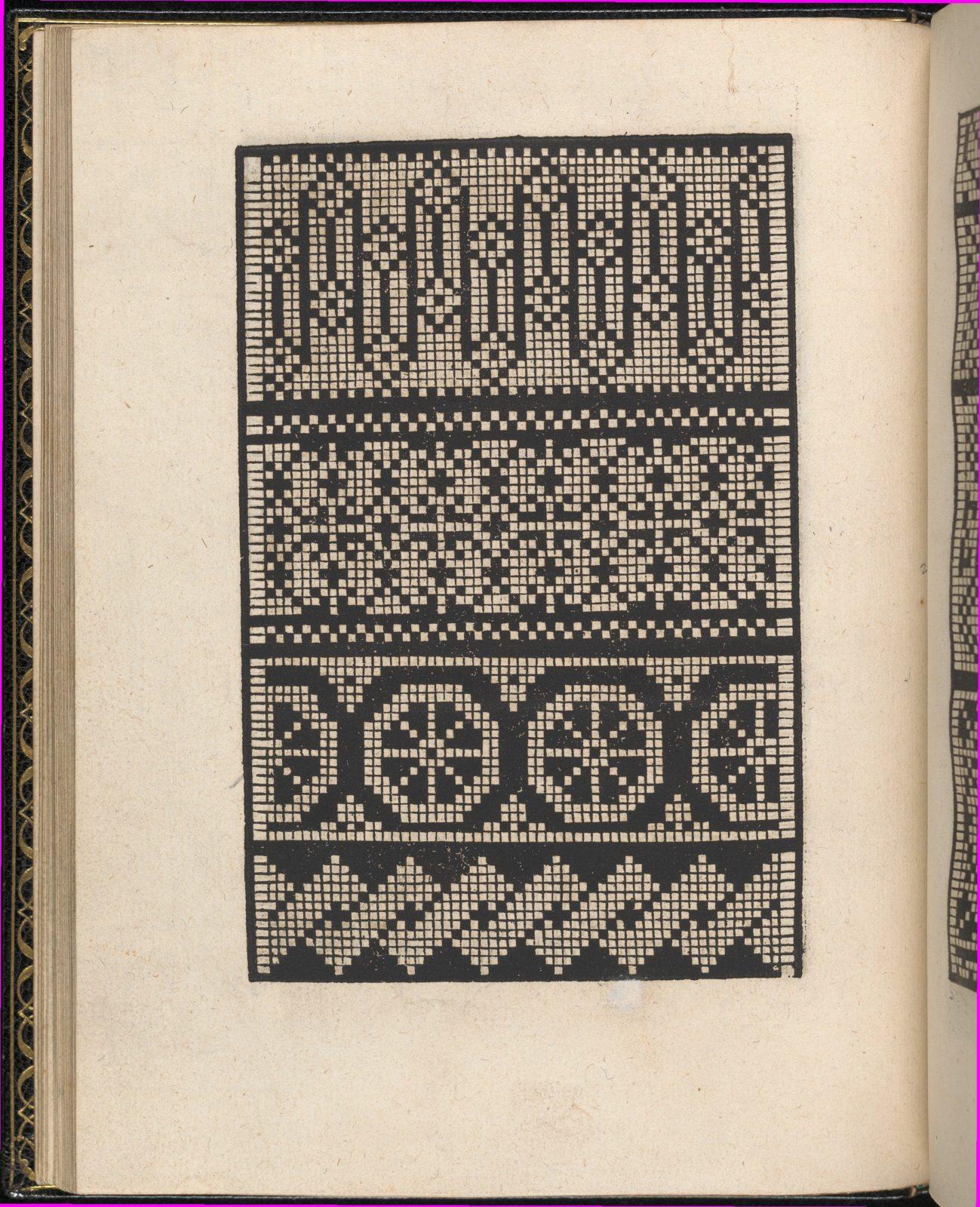 Page from Ein new kunstlich Modelbuch...(Page 21v)