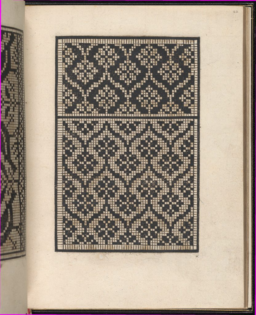 Page from Ein new kunstlich Modelbuch...(Page 22r)