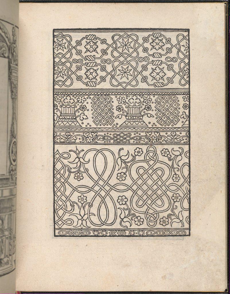 Page from Ein new kunstlich Modelbuch...(Page 2r)
