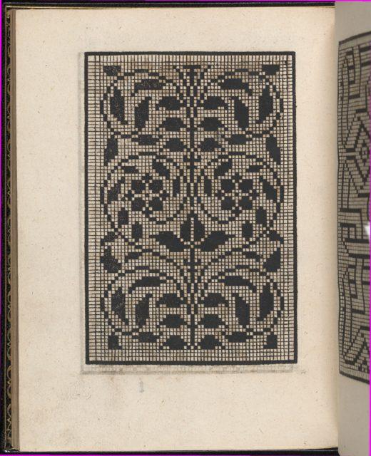 Page from Ein new kunstlich Modelbuch...(Page 40v)